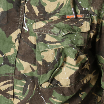 dfc49cb22 Rookie Para Splatter Superdry Kaki Camouflage Veste M50013tq Vert qzASgR