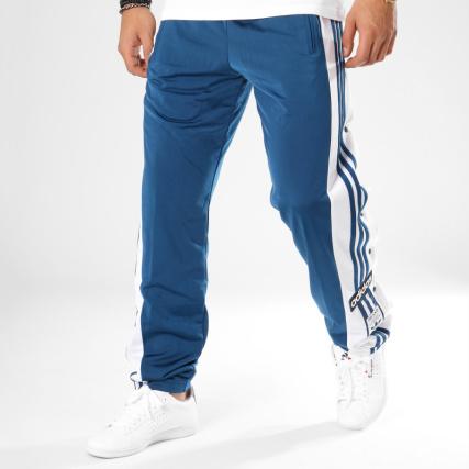 c20e9553d4d adidas - Pantalon Jogging Snap DV1592 Bleu Clair Blanc -  LaBoutiqueOfficielle.com