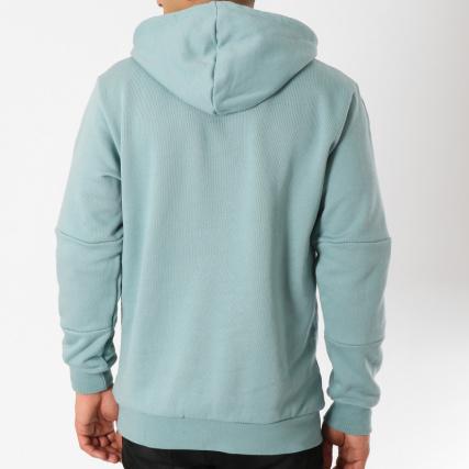 Bleu Brodées Blanc Outline Sweat Dx3848 Turquoise Adidas Capuche grqg1vx