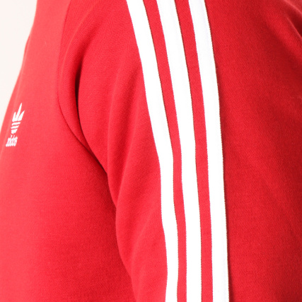 Stripes Adidas Rouge Dv1553 3 Sweat Crewneck Pn8Ttx 141ab036f7d