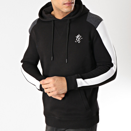 Noir Sweat Capuche Gym Gambino King Blanc ZT7FqxBw